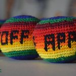 pelota antiestres o hacky sack hecha a mano en guatemala
